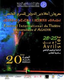 Nouvelle édition du Festival international du théâtre universitaire