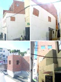 Les riverains de la Place Amrah à Tanger s'élèvent contre une construction illégale