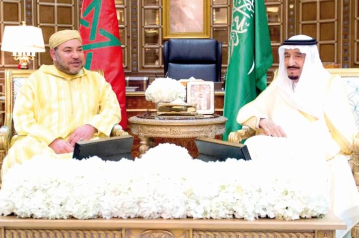 LL.MM Mohammed VI et Salman Ben Abdelaziz déterminés à consolider  les relations maroco-saoudiennes