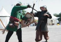 Insolite : Combat médiéval