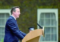 David Cameron face à ses grands travaux en Grande-Bretagne