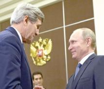 Kerry rencontre Poutine à Sotchi
