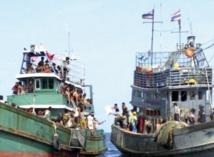 Des centaines de migrants en déperdition refoulés de Thaïlande et d'Indonésie