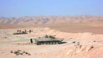 Violents combats autour de Palmyre entre EI et forces du régime syrien