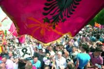 Des protestataires  demandent le départ  du Premier ministre  à Skopje en Macédonie