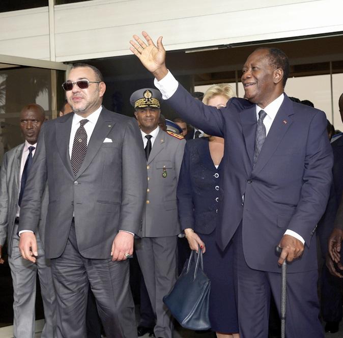 Nouvelle tournée Royale en Afrique