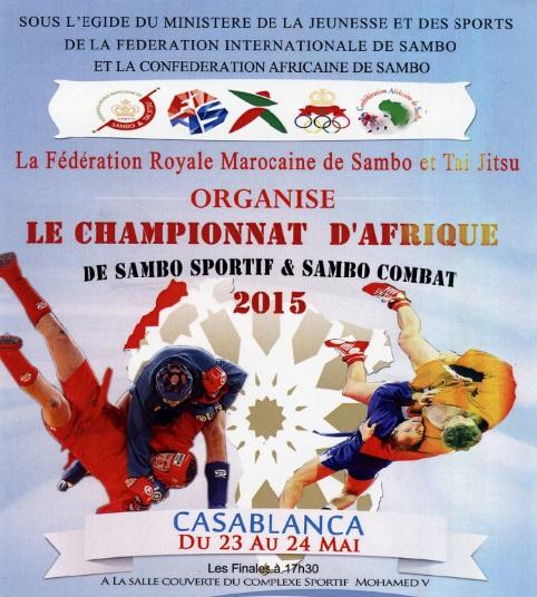 Casablanca à l'heure des championnats d'Afrique et du monde de sambo