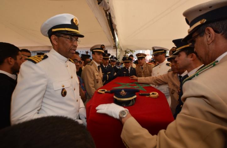 Hommage posthume au Lieutenant Yassine Bahti