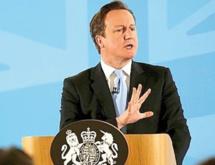 David Cameron fixe ses limites sur l'immigration européenne