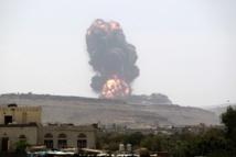 Raids aériens et combats terrestres au Yémen