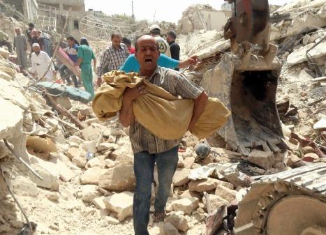 L'EI a exécuté 217 personnes à Palmyre  et environs