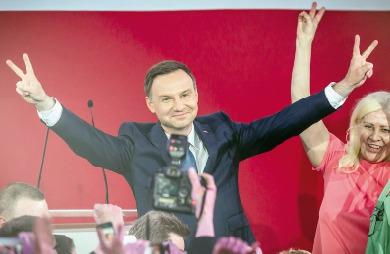 Andrzej Duda, un jeune conservateur qui a conquis le fauteuil présidentiel polonais