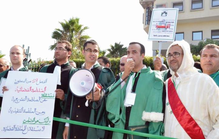 Les magistrats tirent à boulets rouges sur les projets de lois relatifs au pouvoir judiciaire