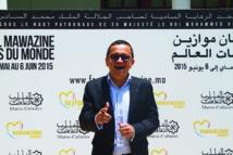 Yuri Buenaventura, très touché par  l'ouverture de la  société marocaine