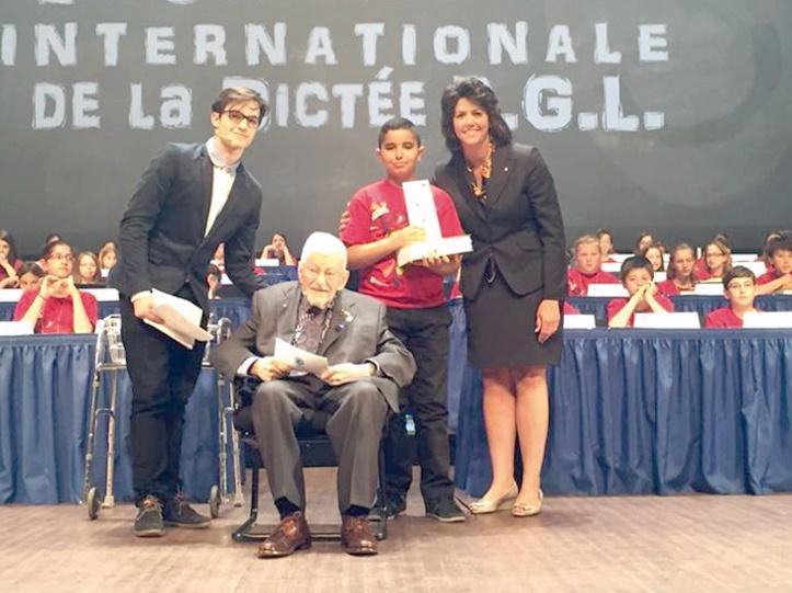 Un écolier marocain consacré à Montréal