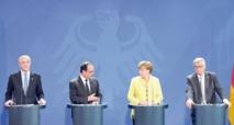 La Troïka, Merkel et Hollande  réunis autour de la Grèce à Berlin