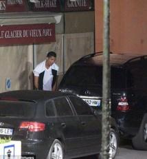 Cristiano Ronaldo arrêté par la police en pleine pause pipi