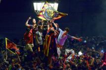 Fiesta des supporteurs du blaugrana