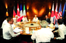 Le G7 inflexible avec Moscou, optimiste sur le climat et uni face au terrorisme