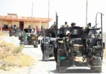 Les forces irakiennes progressent contre  le groupe EI à Baïji
