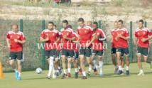Le Onze national fin prêt pour le match contre la Libye