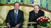 Hollande à Alger à la rencontre d'un président à la santé fragile