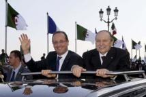 Visite de François Hollande à Alger