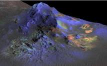 Du verre retrouvé sur Mars