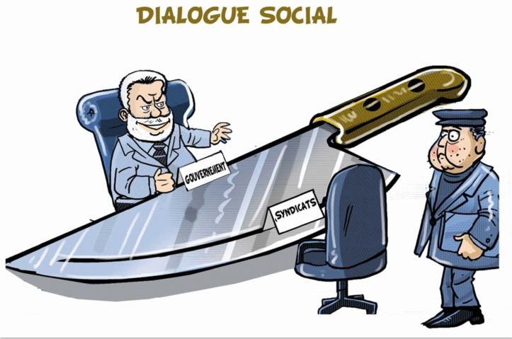 Le dialogue social version Benkirane : Un monologue antisocial