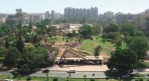 Au Caire, le jardin de l'âge d'or du cinéma égyptien menacé