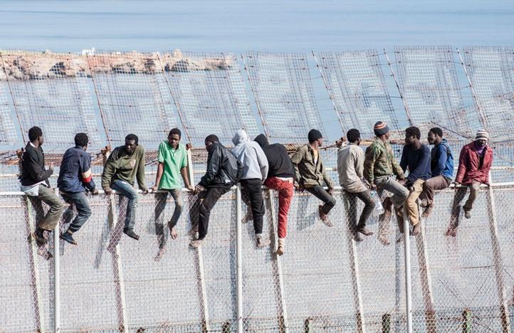 L'Europe refuse de cautionner les barrières grillagées de Sebta et Mellilia