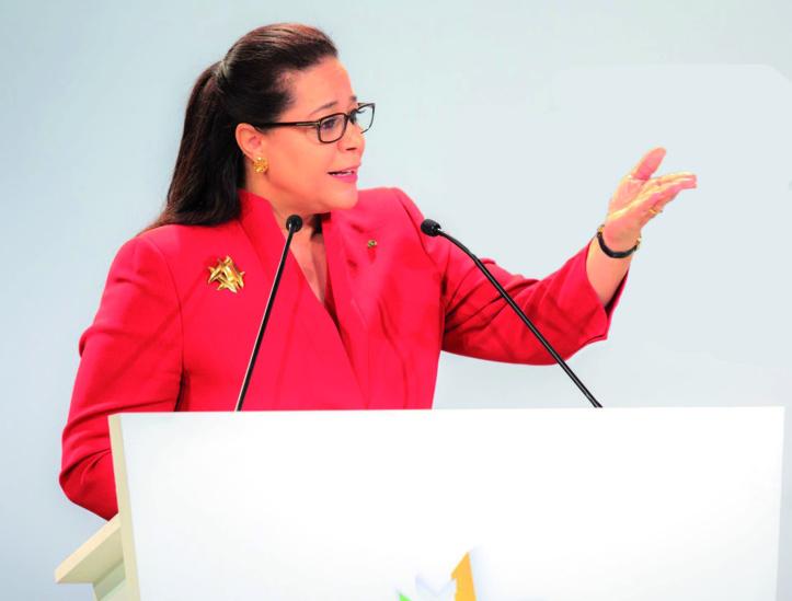 Meriem Bensalah Chaqroun se confie à Libé