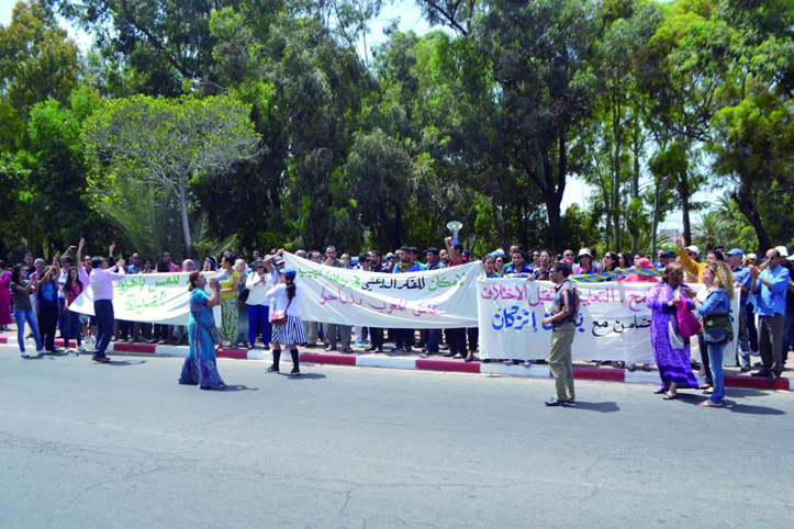 Les jeunes filles d'Inezgane  devant la justice aujourd'hui