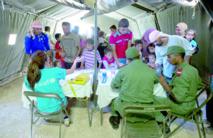 11.000 réfugiés syriens soignés à l'hôpital marocain de Zaâtari
