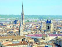 Vue de la ville de Bordeaux.