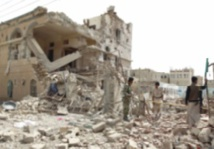 La coalition bombarde le QG du parti de l'ex-président Saleh à Sanaa