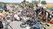 Le Tour de France compte ses premières victimes