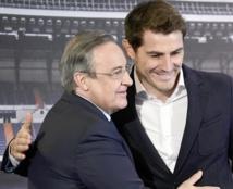 Le président du Real Madrid dément avoir poussé Casillas au départ