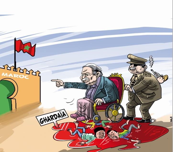 Folie furieuse à Alger : Ghardaïa et toutes les autres misères, c'est le Maroc !