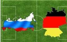 Russie-Allemagne serait un match de la paix
