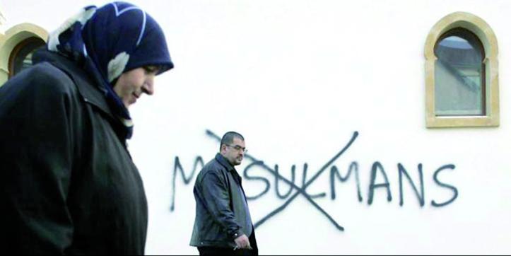 Recrudescence des actes islamophobes au premier semestre en France