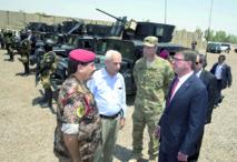 L'Irak  déploie des troupes  formées par les Etats-Unis à Ramadi