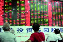 Chute brutale et spectaculaire de 8,48% de la Bourse de Shanghai