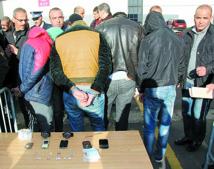 Arrestation de 1.294 individus impliqués dans des actes criminels