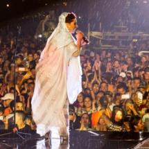 Saida Charaf sur la scène d'Azemmour