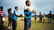 En Afrique du Sud, les jeunes Noirs rêvent d'intégrer les Springboks