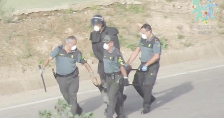 La Guardia civil échappe aux mailles de la justice espagnole