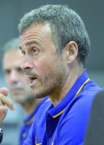 Luis Enrique assume  la déroute du Barça