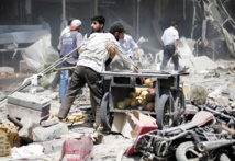 Carnage dans un marché près de Damas