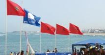 """Dakhla hisse le """"Pavillon Bleu"""" sur la plage Oum Labouir"""